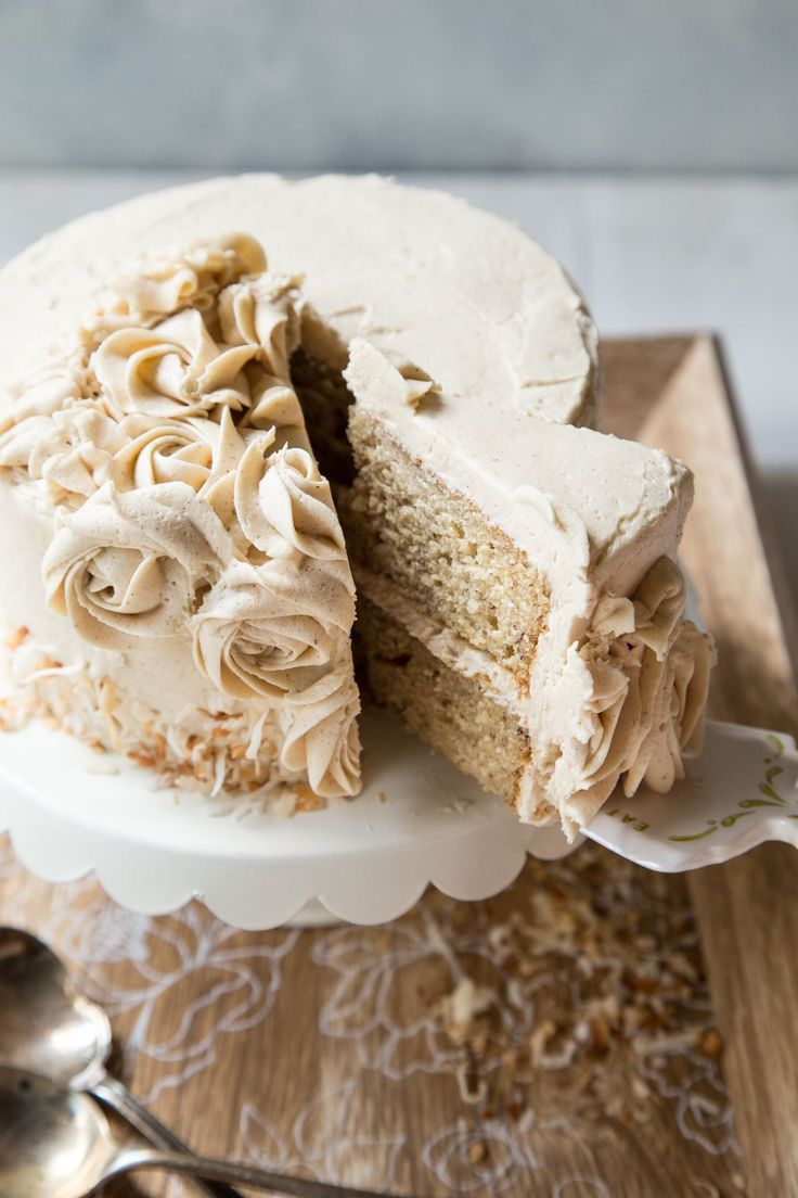 Use up those old bananas in a fancy, new way! This ultra moist cake with light and airy whipped cinnamon brown sugar buttercream is going to make everyone swoon. Dish Count :: 2 8″ cake pans, 1 Mixer, 2 Mixing Bowls There comes a time in every bakers life where her husband doesn't eat all …