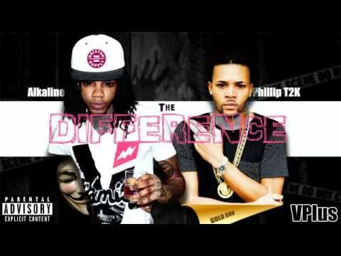 Alkaline - The Difference Ft Phillip T2K | New Dancehall Urban Mix | Jun...