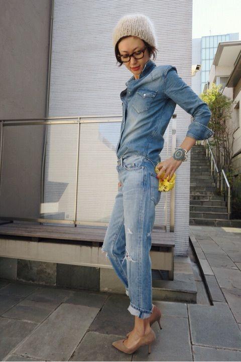 デニムです。 |田丸麻紀オフィシャルブログ Powered by Ameba
