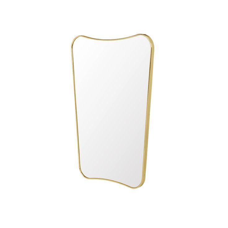 F.A.33 spegel - liten, mässing - Speglar – Möbler från Svenssons i Lammhult