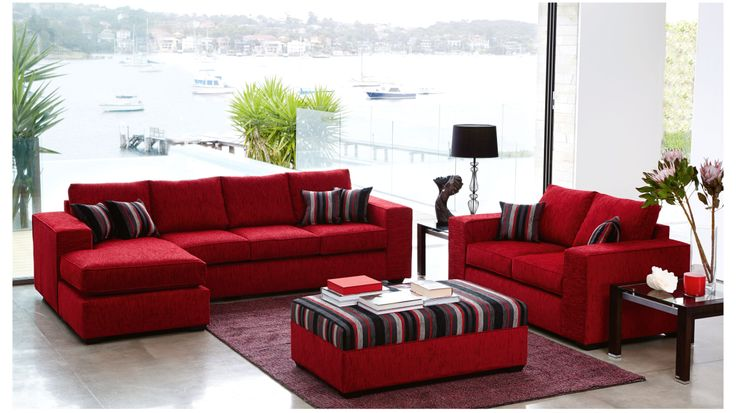 City 3 Piece Lounge Suite. Probably a little too bright