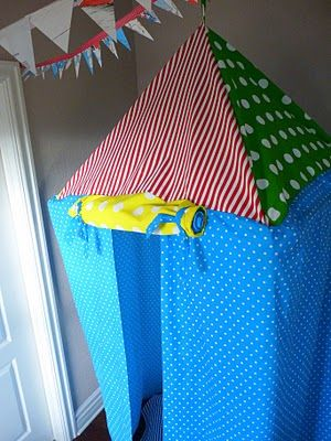 Hanging tent tutorial! like it!