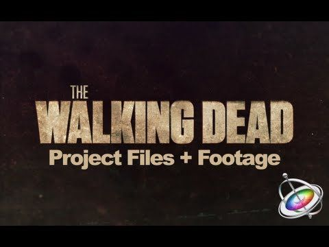 Download Project Files: http://finalcutking.com/walking-dead-effect-in-motion-5/ Learn how to create the Walking Dead Title Sequence Effect. The download inc...