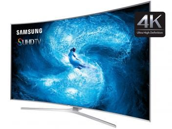 """Smart TV Nano Cristal 3D Curva 78"""" Samsung - UN78JS9500GX Ultra HD 4K 4 HDMI 3 USB Wi-Fi"""