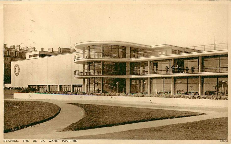 "danismm: ""De La Warr Pavilion, Bexhill-on-Sea, United Kingdom, 1935, Arch. Erich Mendelsohn, Serge Chermaev. """