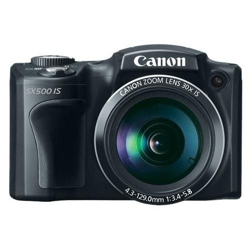 The PowerShot SX500 IS Digital Camera from Canon gives you all the power of super zoom in a camera that's sized to go everywhere! This Camera features the powerful 30x Optical Zoom and 24mm..