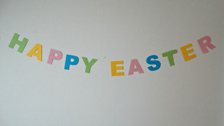 Happy Easter Banner.