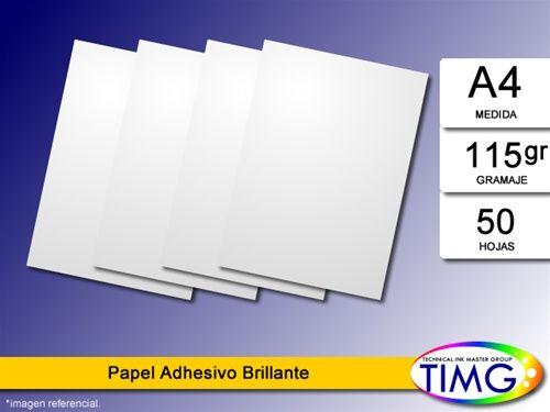Los papeles fotograficos han vuelto a stock Papel Foto Adhesivo SAH115/80 - http://www.suministro.cl/Papel_fotografico_Sah115_impresion_inkjet_p/5107060001.htm