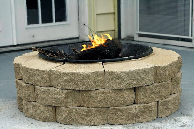 $30 Fire Pit DIY Always Chasing Life: DIY Fire Pit