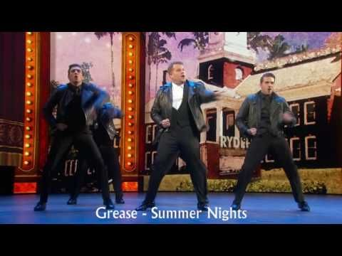 James Corden's 2016 Tony Awards Opening with musical titles - YouTube