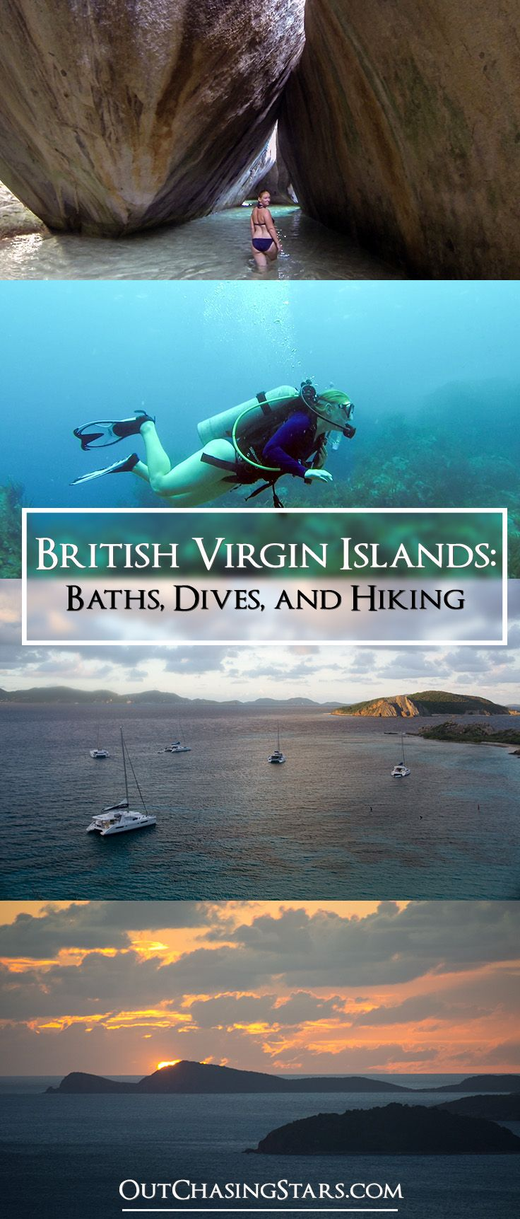 BVIs: Part 2, Visiting the Baths, going for a dive, and Hiking Peter's Island! | BVIs | British Virgin Islands | Caribbean Islands  -OutChasingStars.com