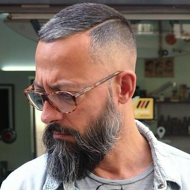 Pin By Tori Hoffman On That Beard Tho Beard Styles For Men Grey Hair Fade Beard Hairstyle