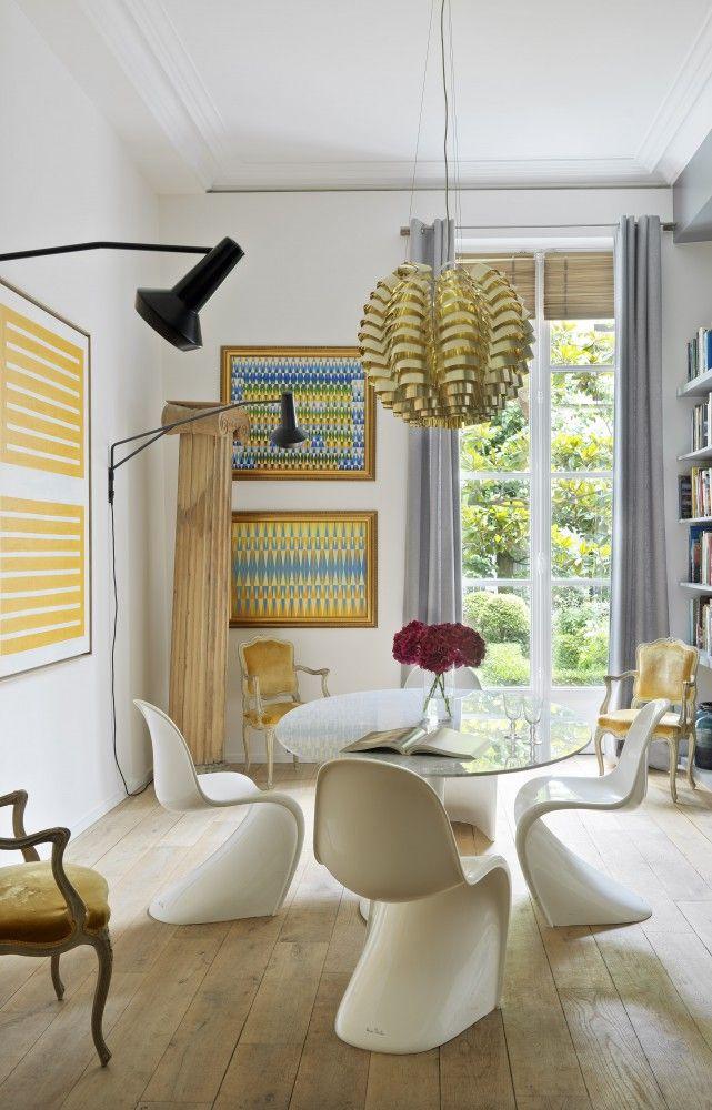 À Paris, l\'appartement de l\'architecte d\'intérieur Didier Gomez ...