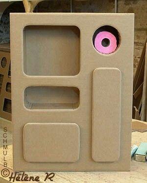 Туалетный шкафчик Картон