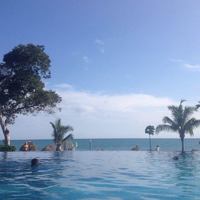 Blue, blue, blue... #beach #pool #sea #sky #beautiful #NoFilter