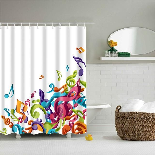 Pin On Shower Curtain Art