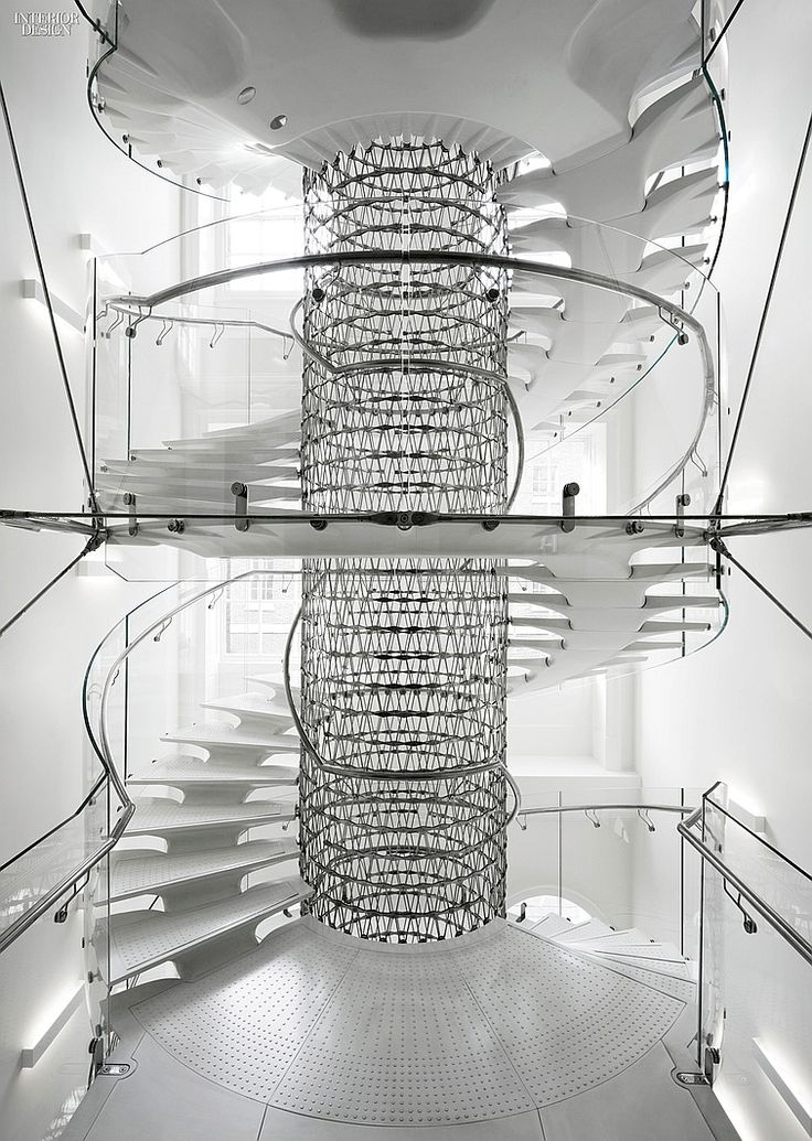 Eva Jiricna 39 S Uhpc Stairs For London 39 S Somerset House