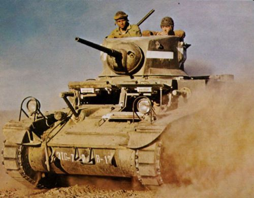 US-Army-M3-Stuart-in-Action-Photo-WWII-WW2-COLOR-World-War-Two-Armor