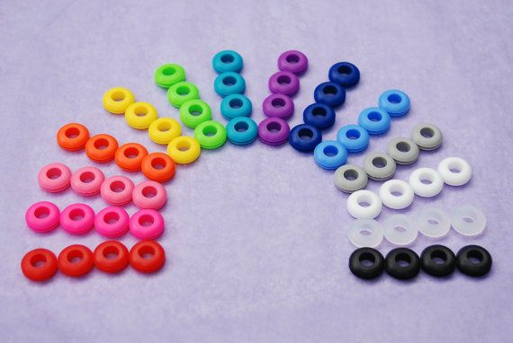25 Colored Grommets for Use With Reusable by BondurantMountainArt