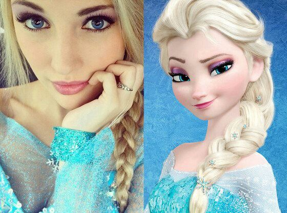 Do you think she looks like Elsa?
