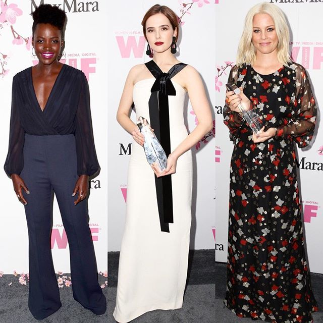 @LupitaNyongo @ZoeyDeutch and @ElizabethBanks at @MaxMara @WomenInFilmLA Awards./ Голливудские актрисы Люпита Нионго Зои Дойч и Элизабет Бэнкс в #MaxMara на церемонии вручения наград Women in Film 2017 в Лос-Анджелесе.  via VOGUE RUSSIA MAGAZINE OFFICIAL INSTAGRAM - Fashion Campaigns  Haute Couture  Advertising  Editorial Photography  Magazine Cover Designs  Supermodels  Runway Models