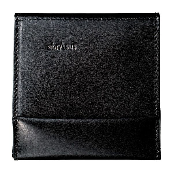 【高島屋限定】薄い財布 黒×黒