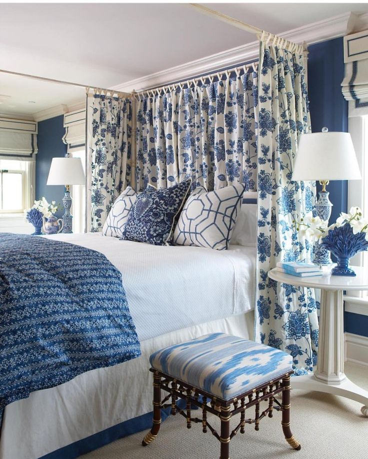 Gorgeous Gray And White Bedrooms: 1000+ Ideas About Blue White Bedrooms On Pinterest