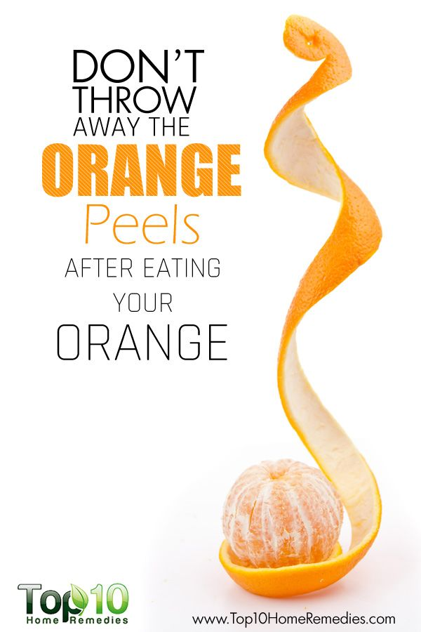 After reading this you will never throw away your #Orange #Peels ever again