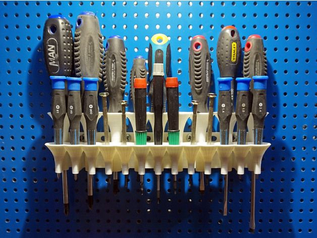 Compact But Very Easy To Use Screwdriver Holder The