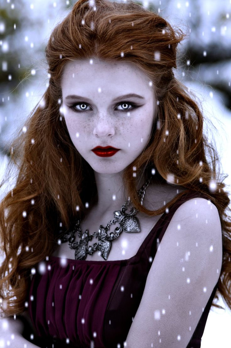 The Greeks believed that all redheads turned into vampires when they ' died ' Vampire Iris-Winter by Darkest-B4-Dawn.deviantart.com