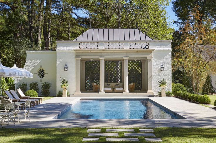 242 Best Pool Houses Images On Pinterest Houses With Pools Pool Houses And Pools