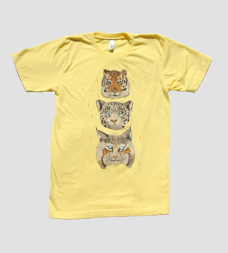 The Cat Heads Men's T-Shirt by Beast USA Shirt Company on Scoutmob Shoppe
