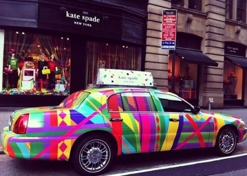 Kate Spade Taxi