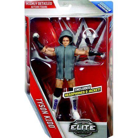 WWE Wrestling Elite Series 40 Tyson Kidd Action Figure, Multicolor