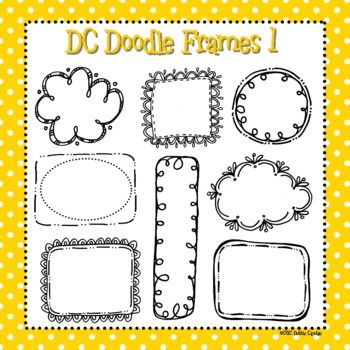 This zip file contains 8 black line doodle frames to use for your commercial, personal, or classroom creations. Images are in both .jpeg and .png f...