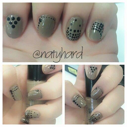 Puntos #manicure #manos #esmalte #puntos