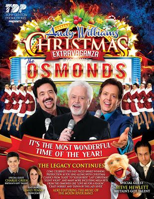 Jimmy Osmond's Blog: The Andy Williams Christmas Extravaganza Starring ...