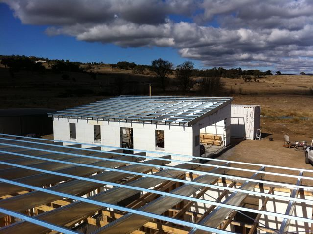 Boxspan Steel Roof Frames