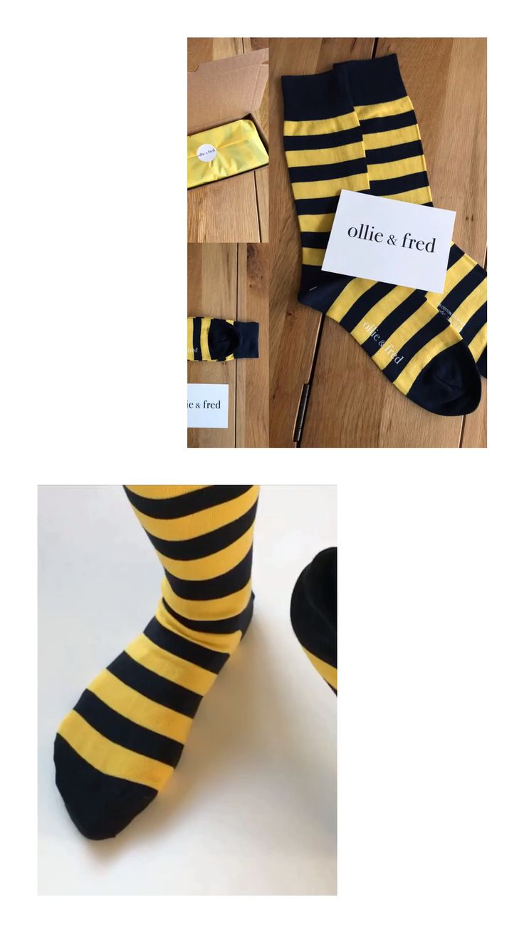 Ollie and fred bee stripe socks wilton [video] in 2020