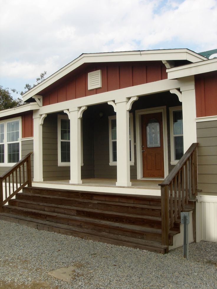 Covered porch, Rancho elevation - If you enjoy front porch living this home  will surly