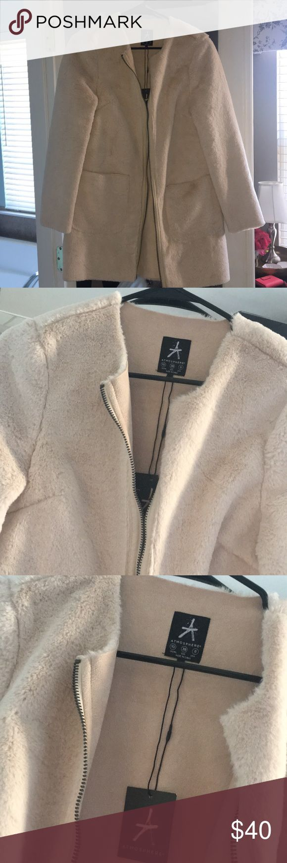 Faux fur Coat Brand new with tags faux fur coat perfect for winter! Super soft and wam very chic! primark Jackets & Coats