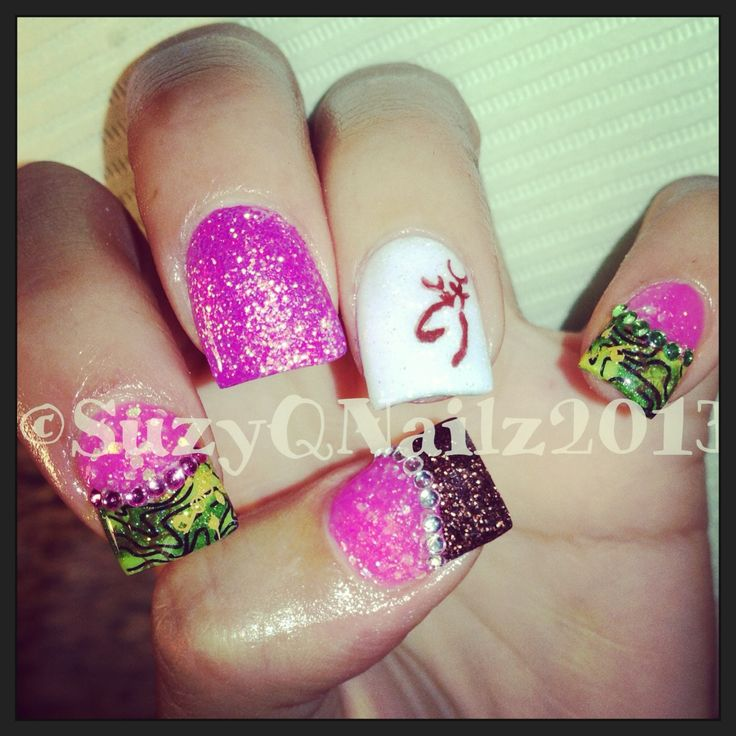 Country Girl Nail Art: Top 25+ Best Country Nail Art Ideas On Pinterest