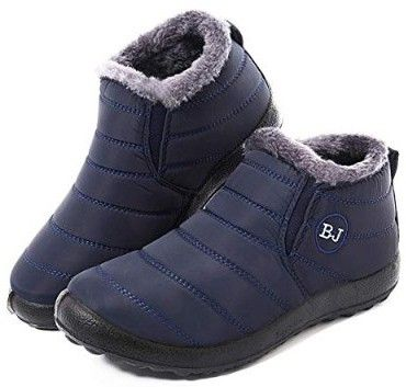 c04eefa23b7e9 Gracosy Warm Snow Boots, Winter Warm Ankle Boots | Best Waterproof ...