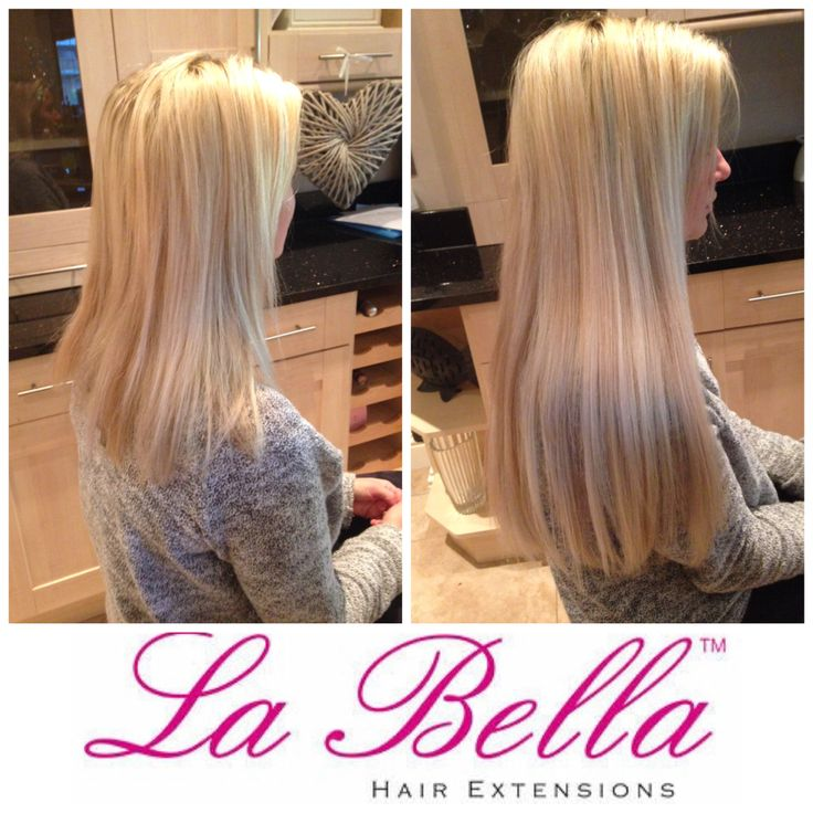 122 Best La Bella Nano Ring Hair Extensions Before And After Picture
