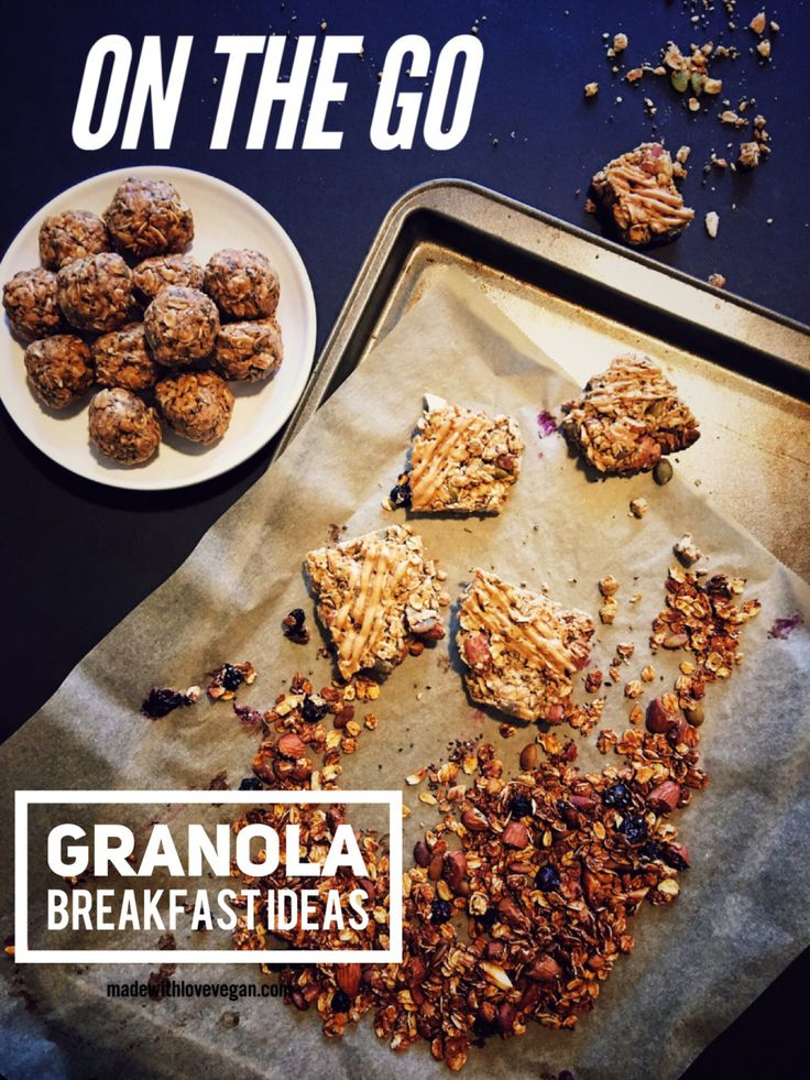 one bowl – three recipes Sometimes, ya just don't have time for breakfast. That's me when I either work or go to school… which takes up just about seven days of the week. Mo…