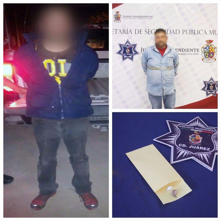 Caen 2 por violencia familiar en Juárez; uno golpeó a su papá y otro a su esposa al reclamarle por drogarse | El Puntero
