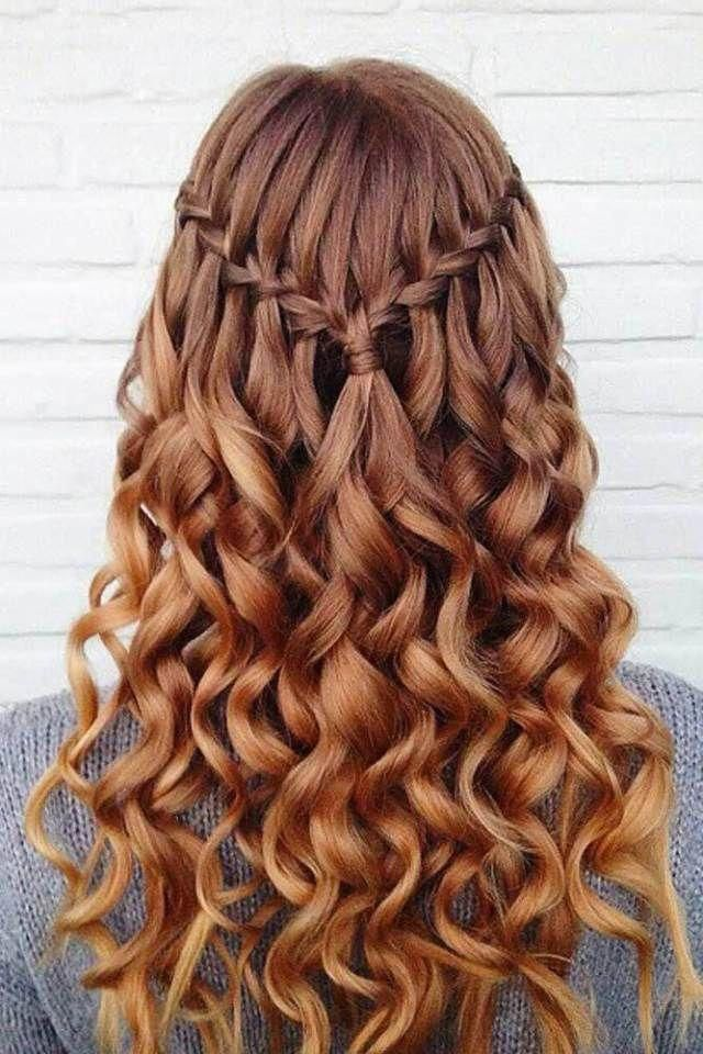 30 Awesome Braided Half Up Half Down Hairstyles for Your Prom #braidedhairstyles