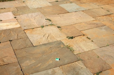 Natural Sandstone Outdoor Paving Flooring