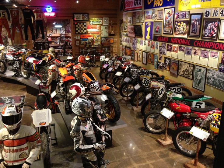 Museums are fun in the winter! Book a room at the AmericInn in Anamosa. They have a pool and a cool bar! Then visit the National Motorcycle Museum at Exit 54 off U.S. 151. #CozyUpInIowa