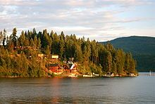 Coeur d'Alene, Idaho!!!  I discovered this city on my drive to Seattle summer 2011.  I stayed two days because it was so lovely and welcoming!  I felt I could retire there easily...lots to see and do, and the people were SO nice!!!!